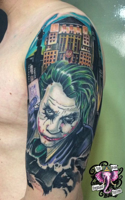 The Pink-Elephant Tattoo - Der Joker