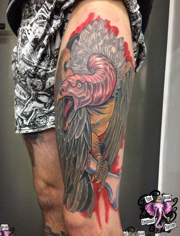 The Pink Elephant Tattoo - Geier