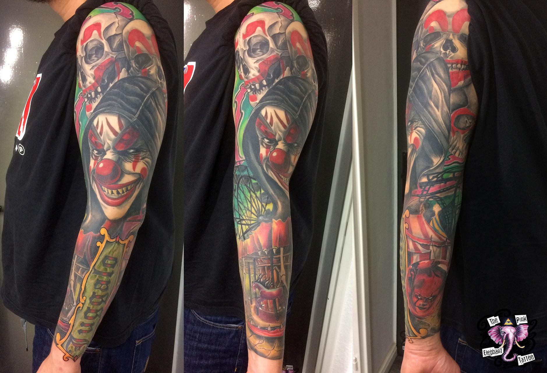 The Pink Elephant Tattoo - Jugalo