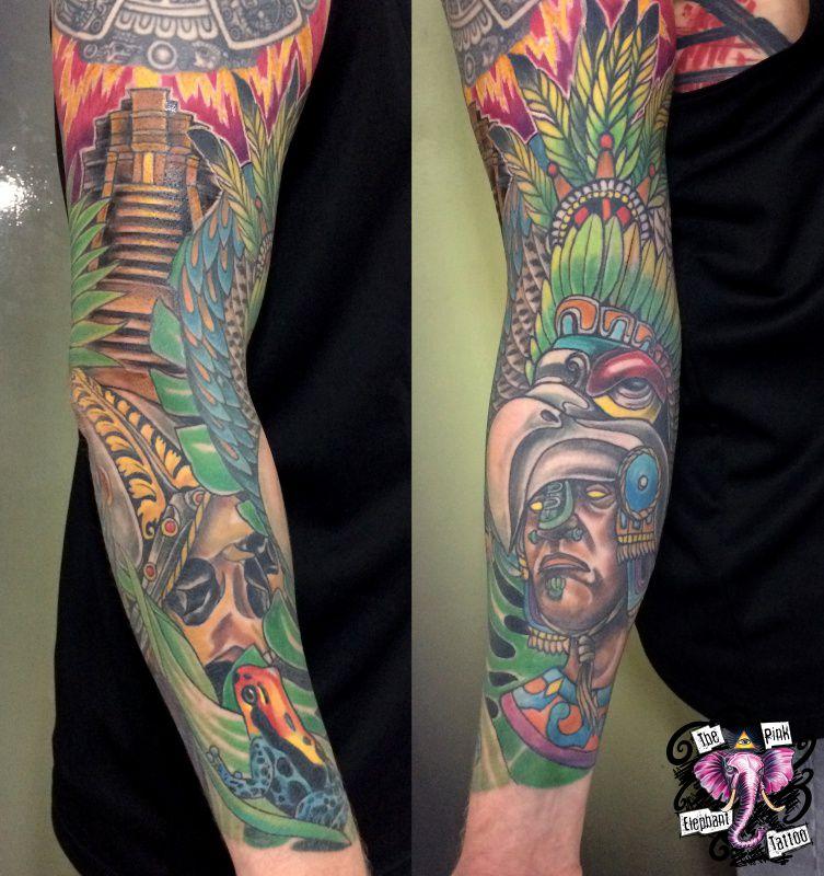 The Pink Elephant Tattoo - Maya